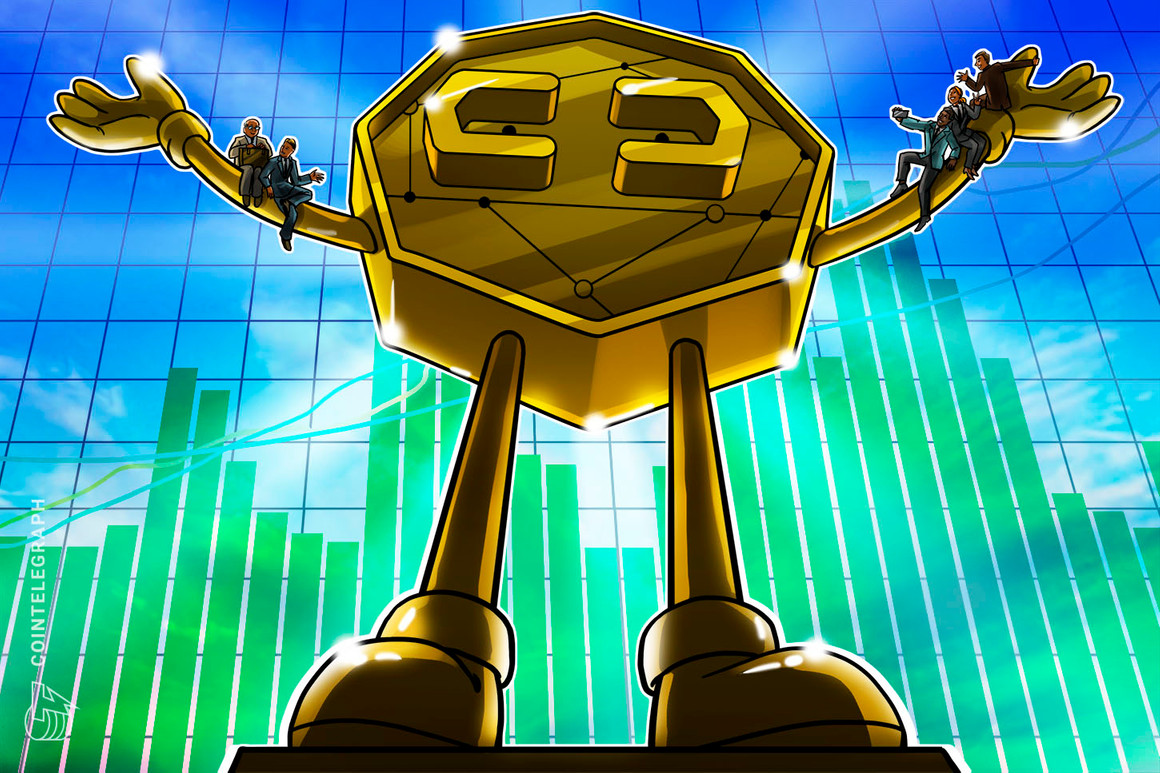 Crypto ETP capitalization up 90% this month as institutional volume triples