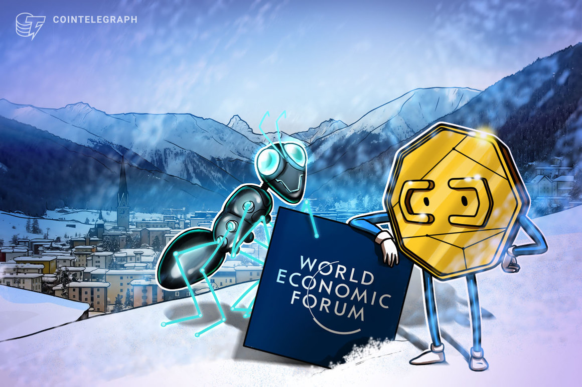 Cryptocurrency makes World Economic Forum's Davos Agenda
