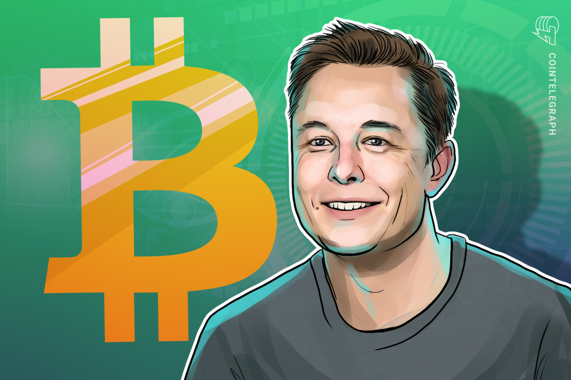 Elon Musk adds 'Bitcoin' to Twitter bio with 43.7M followers
