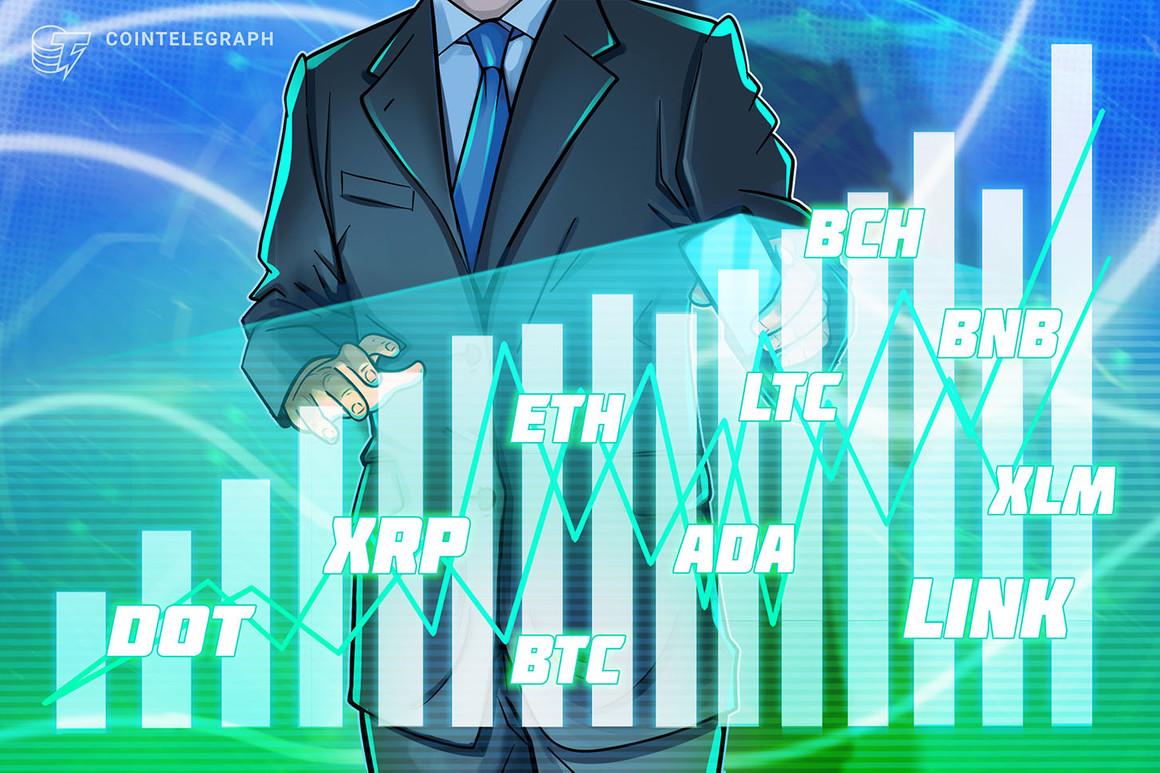 Price analysis 1/22: BTC, ETH, DOT, XRP, ADA, LTC, LINK, BCH, BNB, XLM