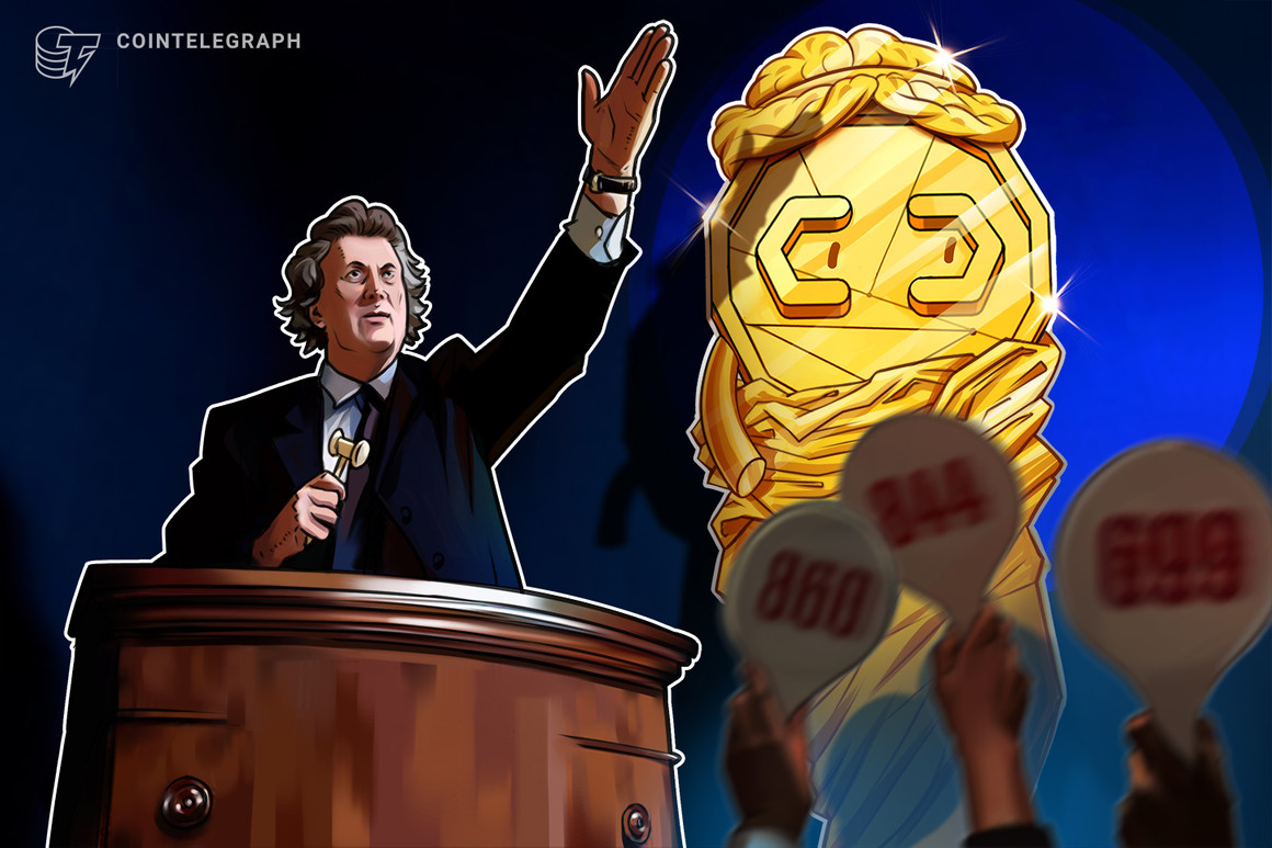Christie's auctions its first purely digital artwork in form of blockchain token - Cointelegraph