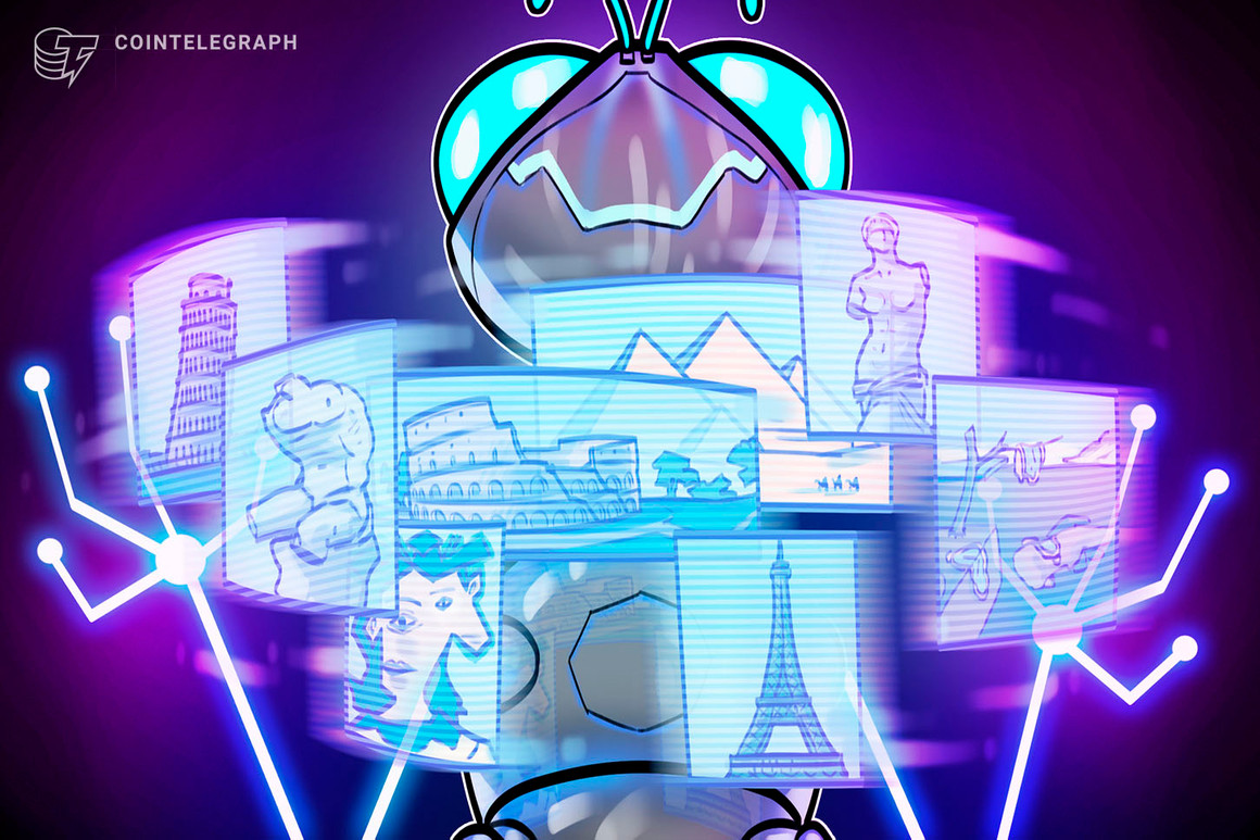 Aleph introduces DApp to 'back up' NFT art pieces
