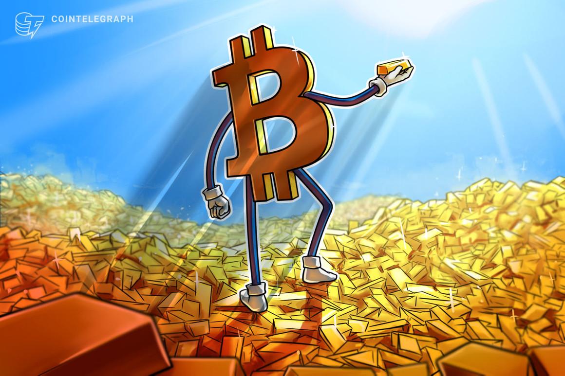 bitcoin rispetto alla capitalizzazione di mercato delloro
