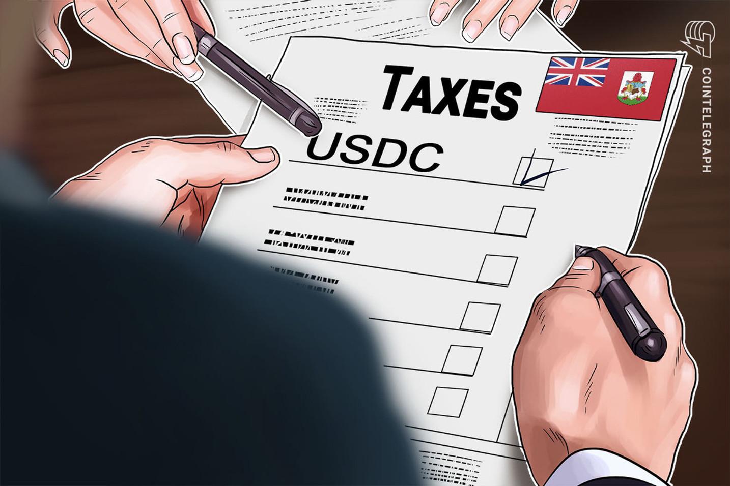 Bermudas se convierte en el primer gobierno en aceptar pagos de impuestos en la stablecoin USDC