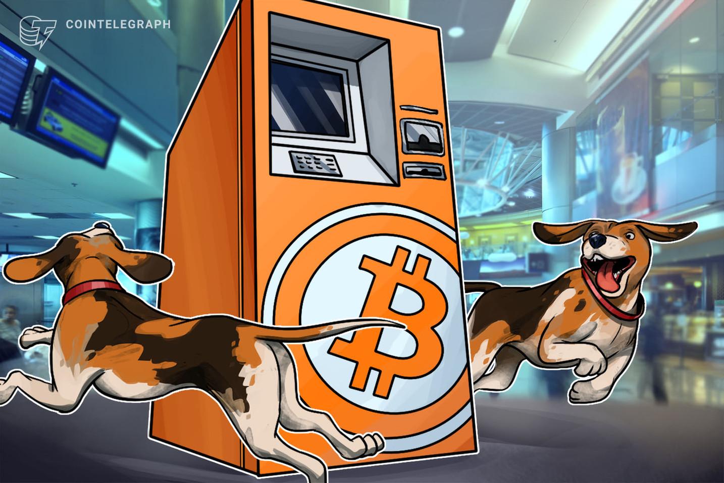 Aeroporto Internacional de Miami recebe seu primeiro caixa eletrônico Bitcoin