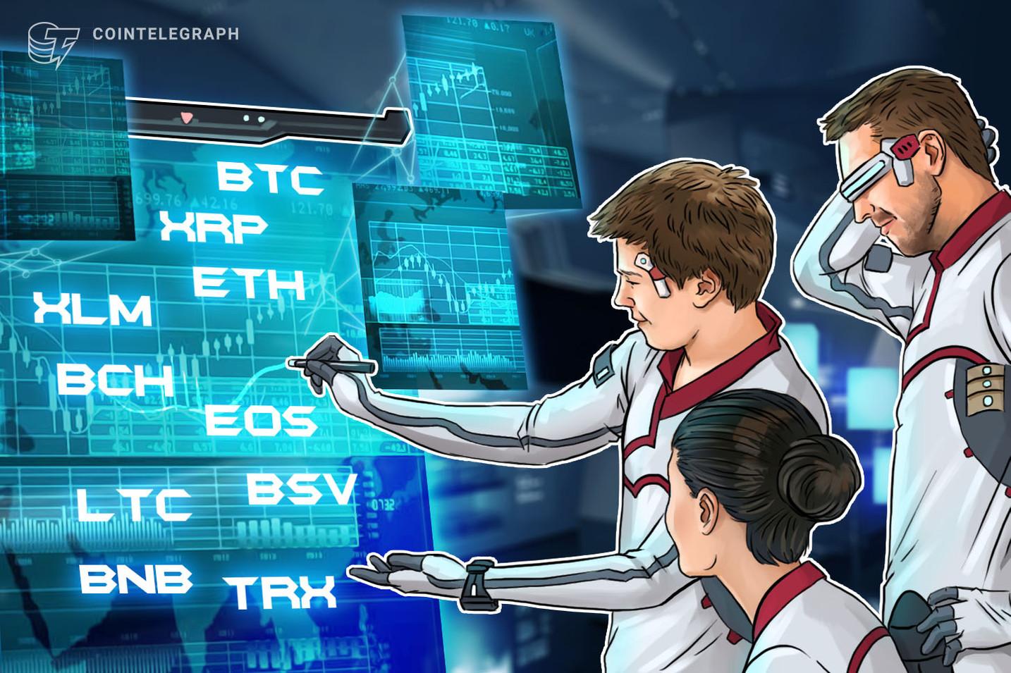 弱気相場脱出の条件 仮想通貨ビットコイン・イーサ・リップル(XRP)のテクニカル分析【価格予想】
