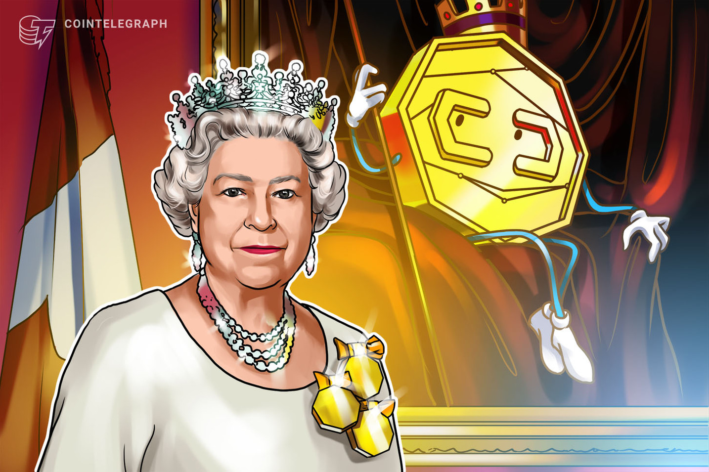 Her Majesty the Queen Rules Out Crypto as Currency