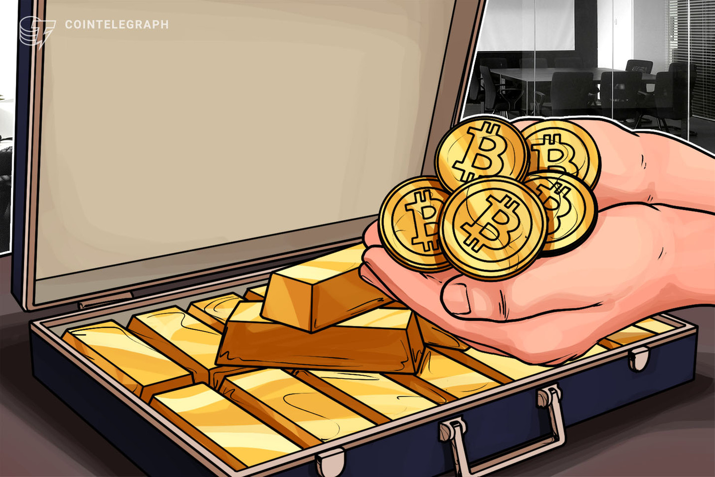 'No Borders' — Alistair Milne Sends Bitcoin Instead of $2.6K Gold Bar