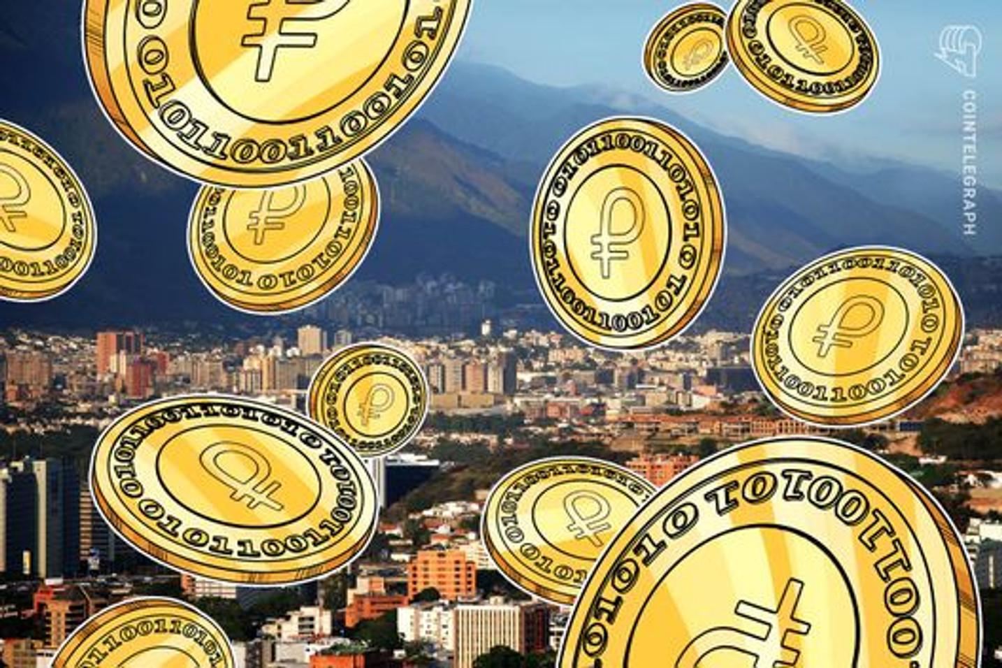 Venezuela: Se aprobaron 100 mil Petros para créditos comerciales