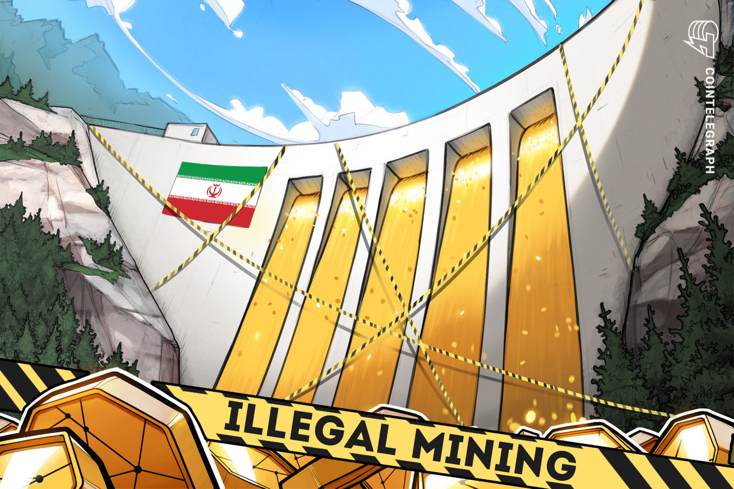 Irã oferece recompensa por denúncia de operações ilícitas de mineração de criptomoedas