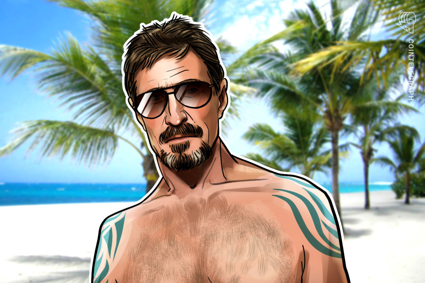 John McAfee Launches WHACKD — An 'Epstein Didn't Kill Himself' Crypto