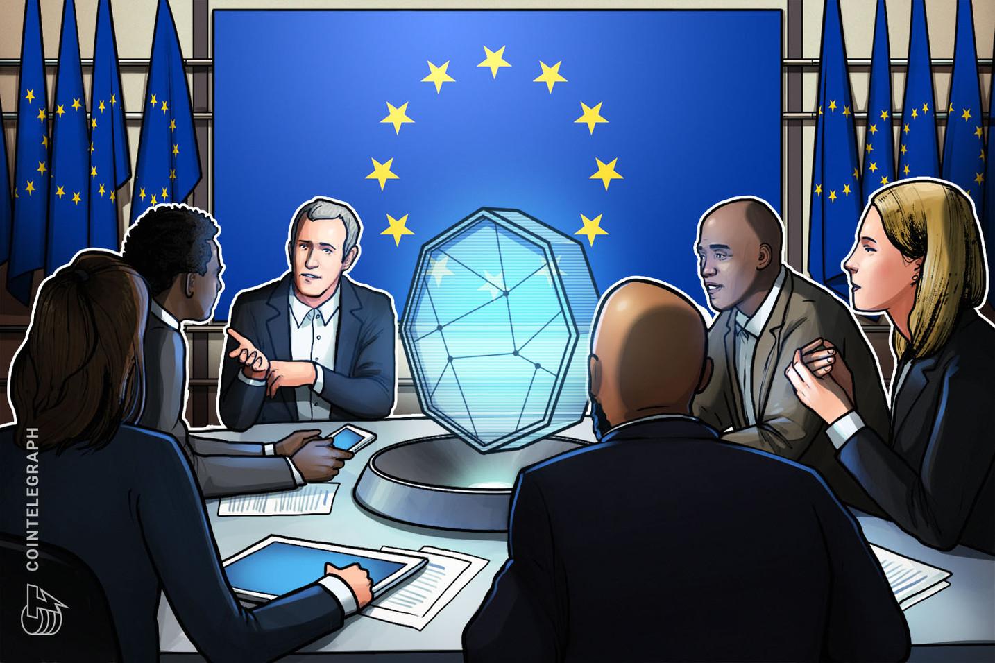 Projeto de lei da União Europeia que sugere a criação da Eurocoin