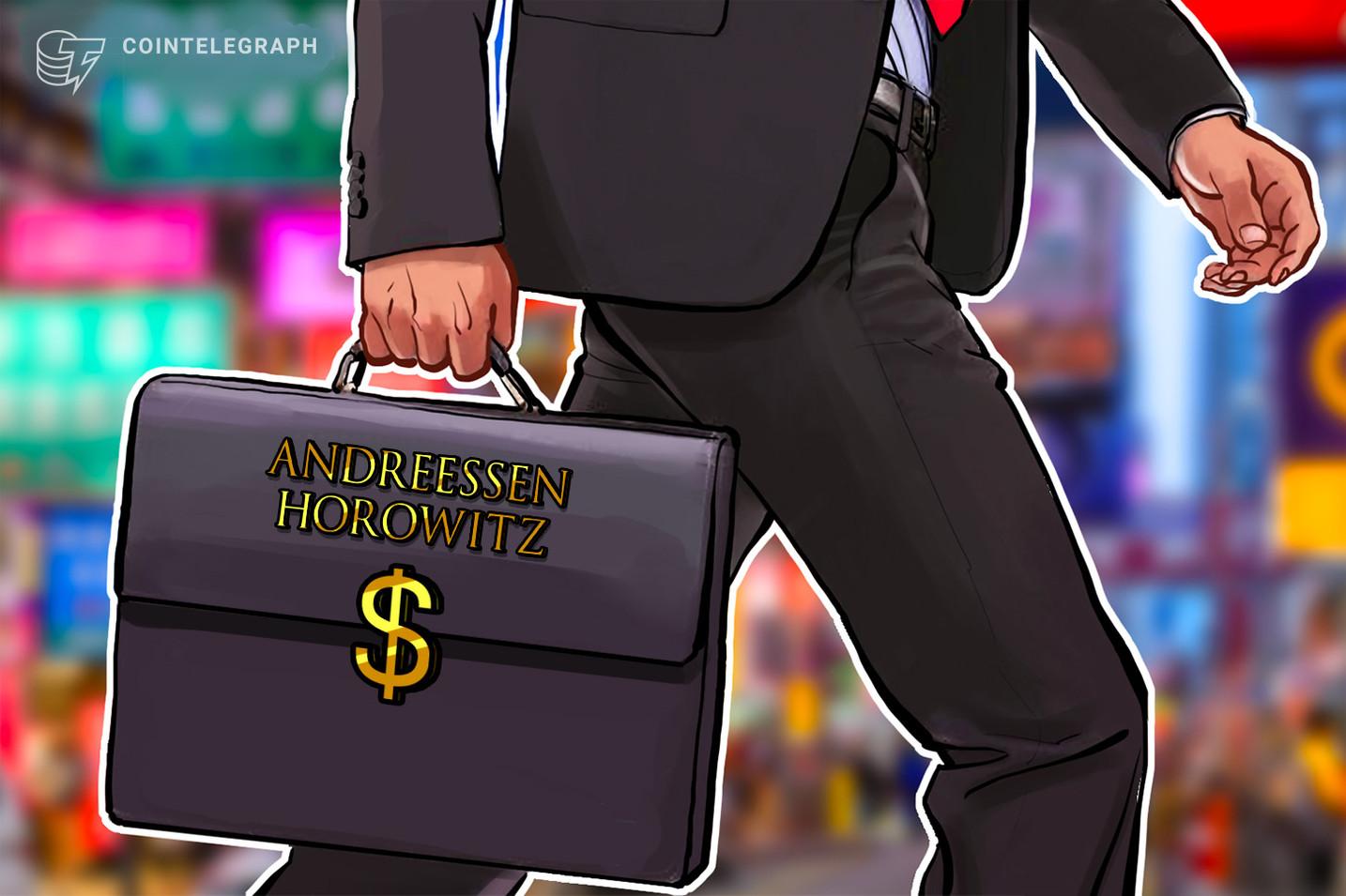Andreessen Horowitz lidera la ronda de financiación de USD 25 millones para una startup de criptopréstamos