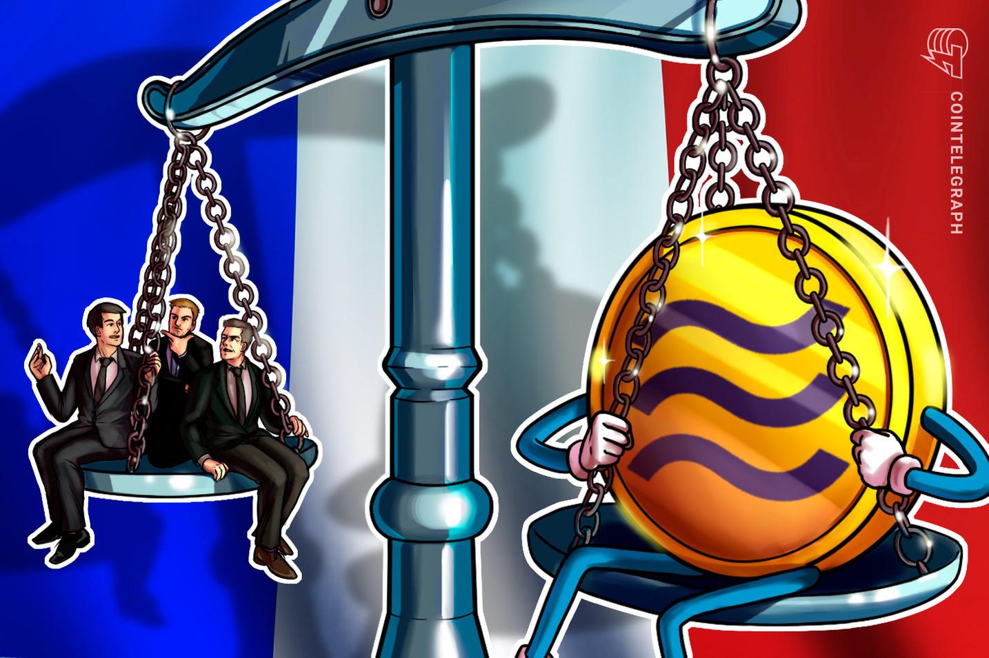 """El ministro de finanzas francés advierte que """"no puede permitir"""" Libra de Facebook"""