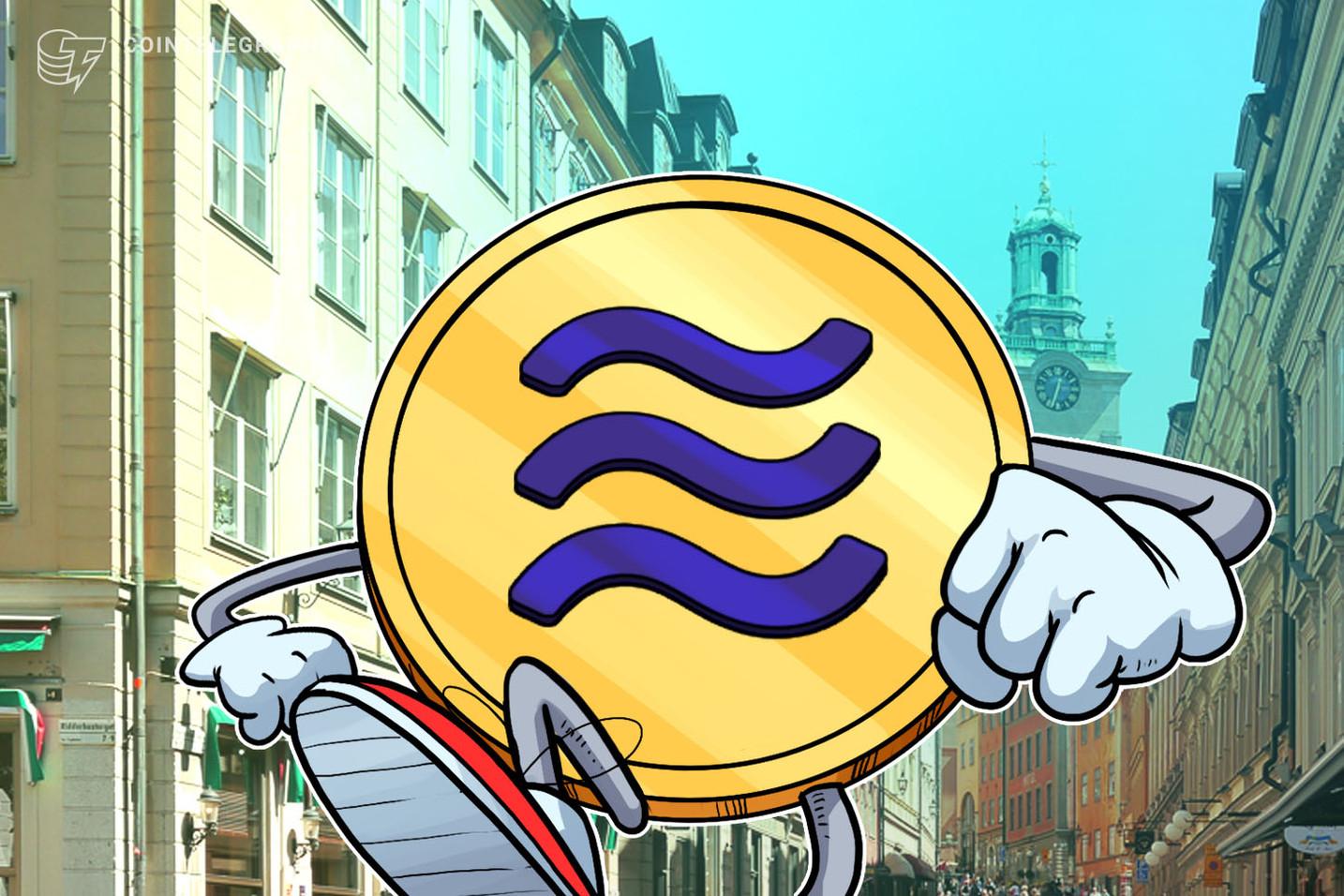 """Schwedischer Zentralbankchef: Libra ist ein """"wichtiges katalytisches Ereignis"""""""