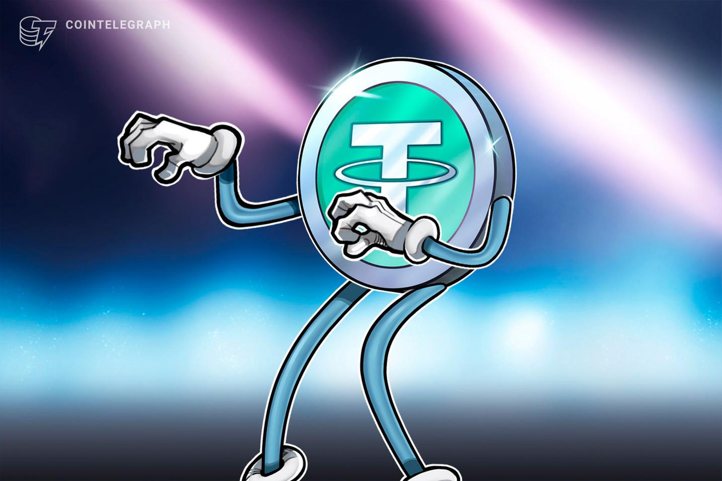 Casi el 12% de todo el Tether ahora está en Tron después de un swap de cadena de USD 100 millones