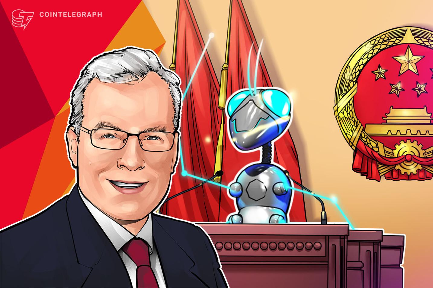 """El WeChat de Julian Gordon """"No ha dejado de zumbar"""" desde que Xi Jinping se puso a favor de Blockchain"""