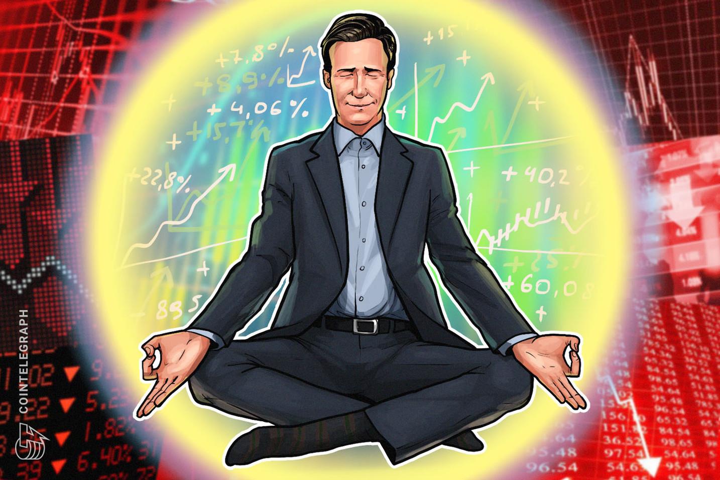 Cruzamento de linha de baixa em indicador chave pode elevar o preço do Bitcoin para US$ 7.300