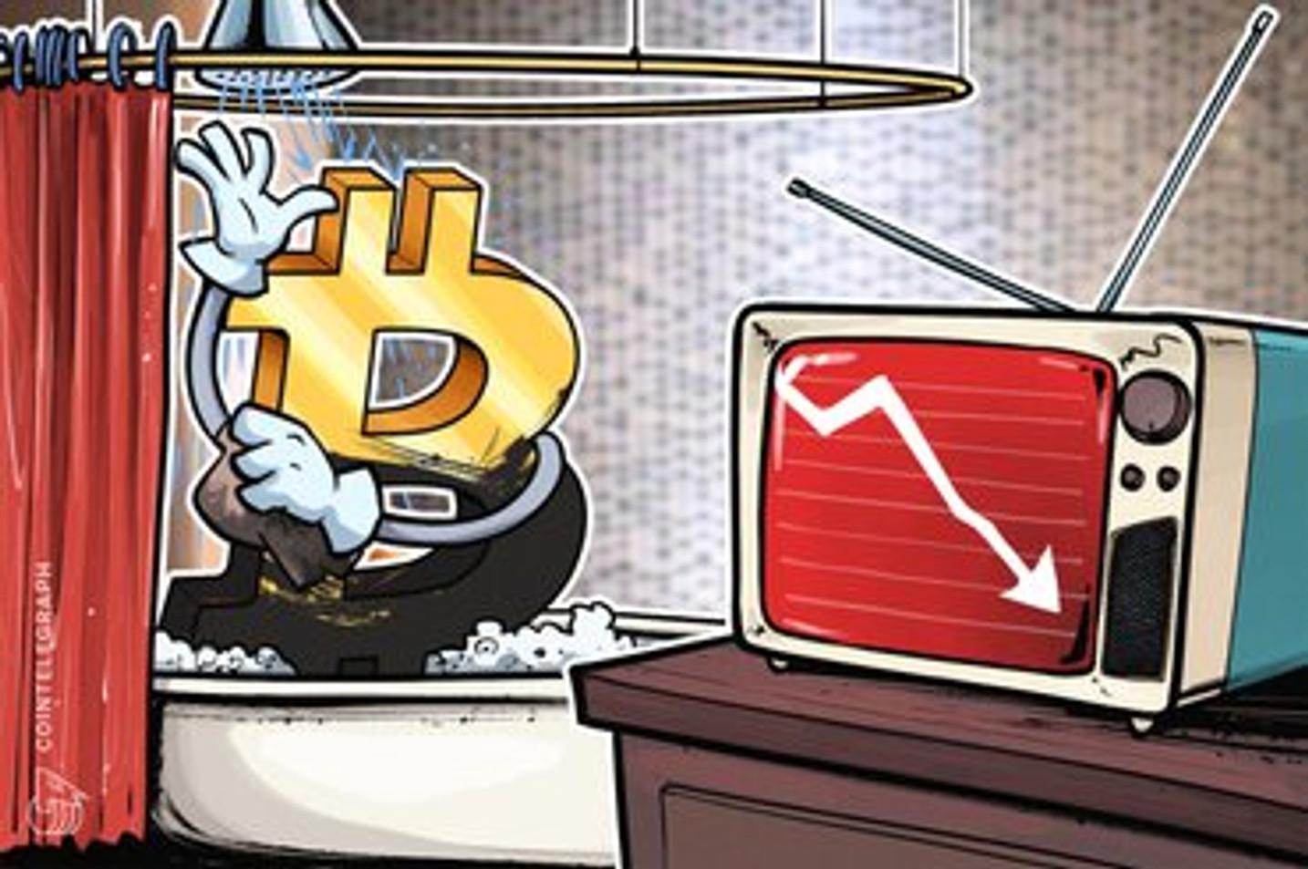 仮想通貨ビットコインにテクニカル分析家が相次いで警告 「先週の安値下回る可能性も」