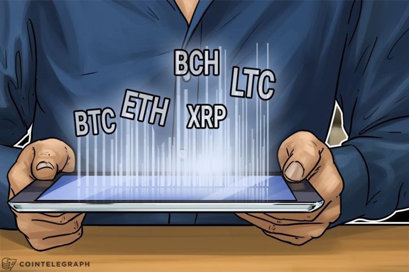 Price Analysis, October 28: Bitcoin, Ethereum, Bitcoin Cash, Ripple, Litecoin