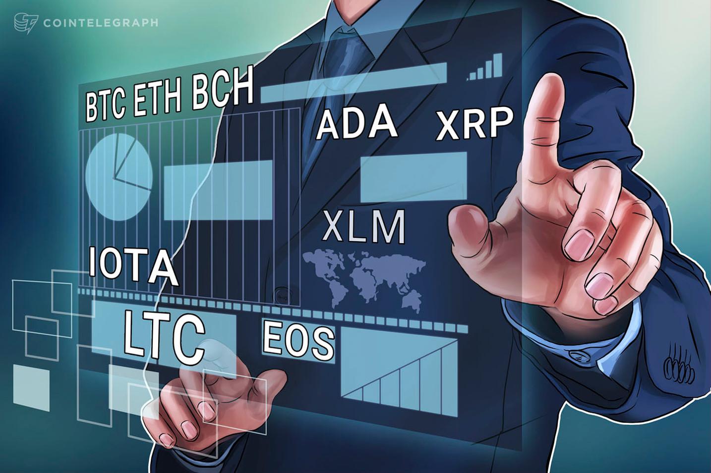 Kursanalyse, 11. Mai: Bitcoin, Ethereum, Bitcoin Cash, Ripple, Stellar, Litecoin, Cardano, IOTA, EOS