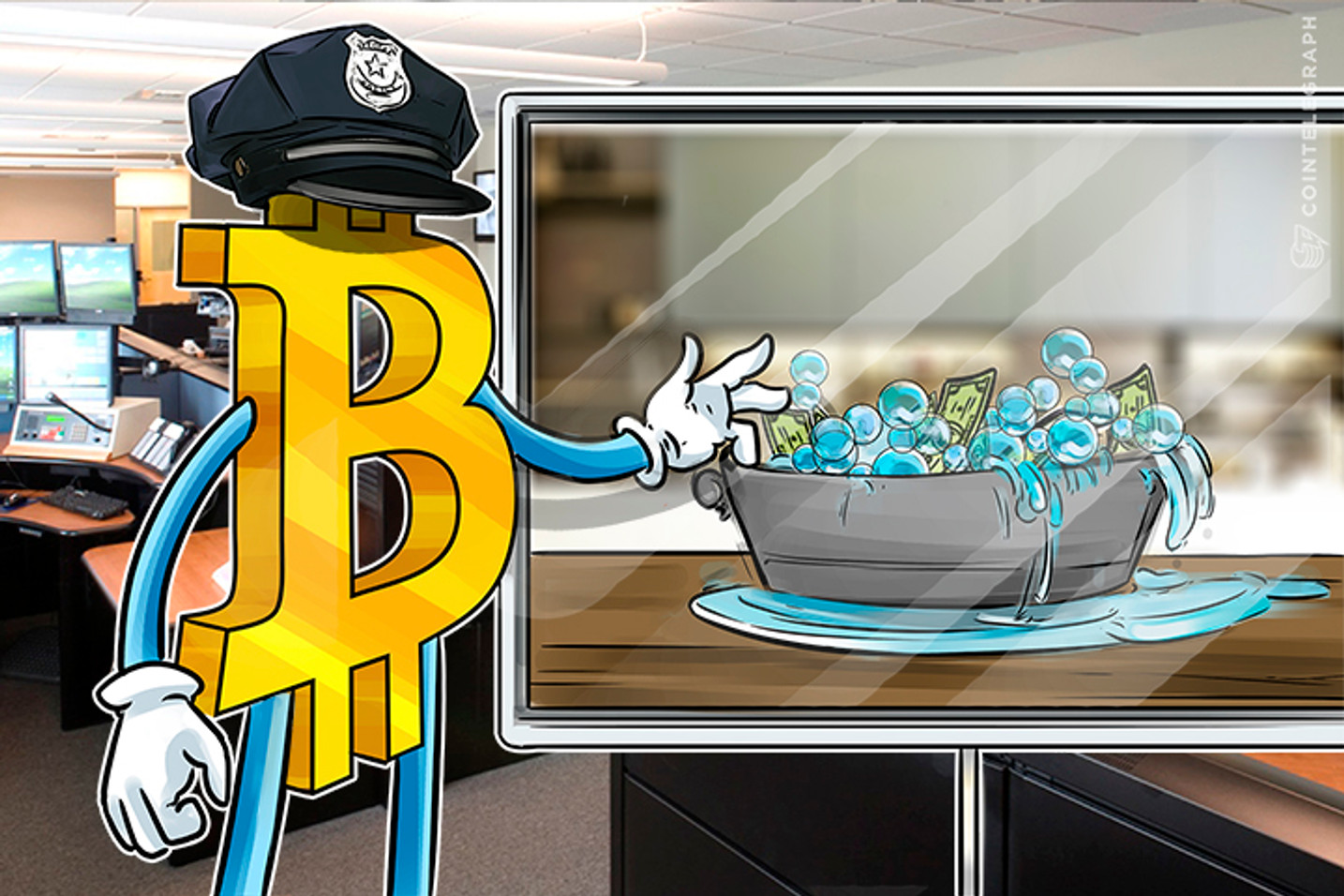 Bitcoin Gives Window into Rampant Money Laundering