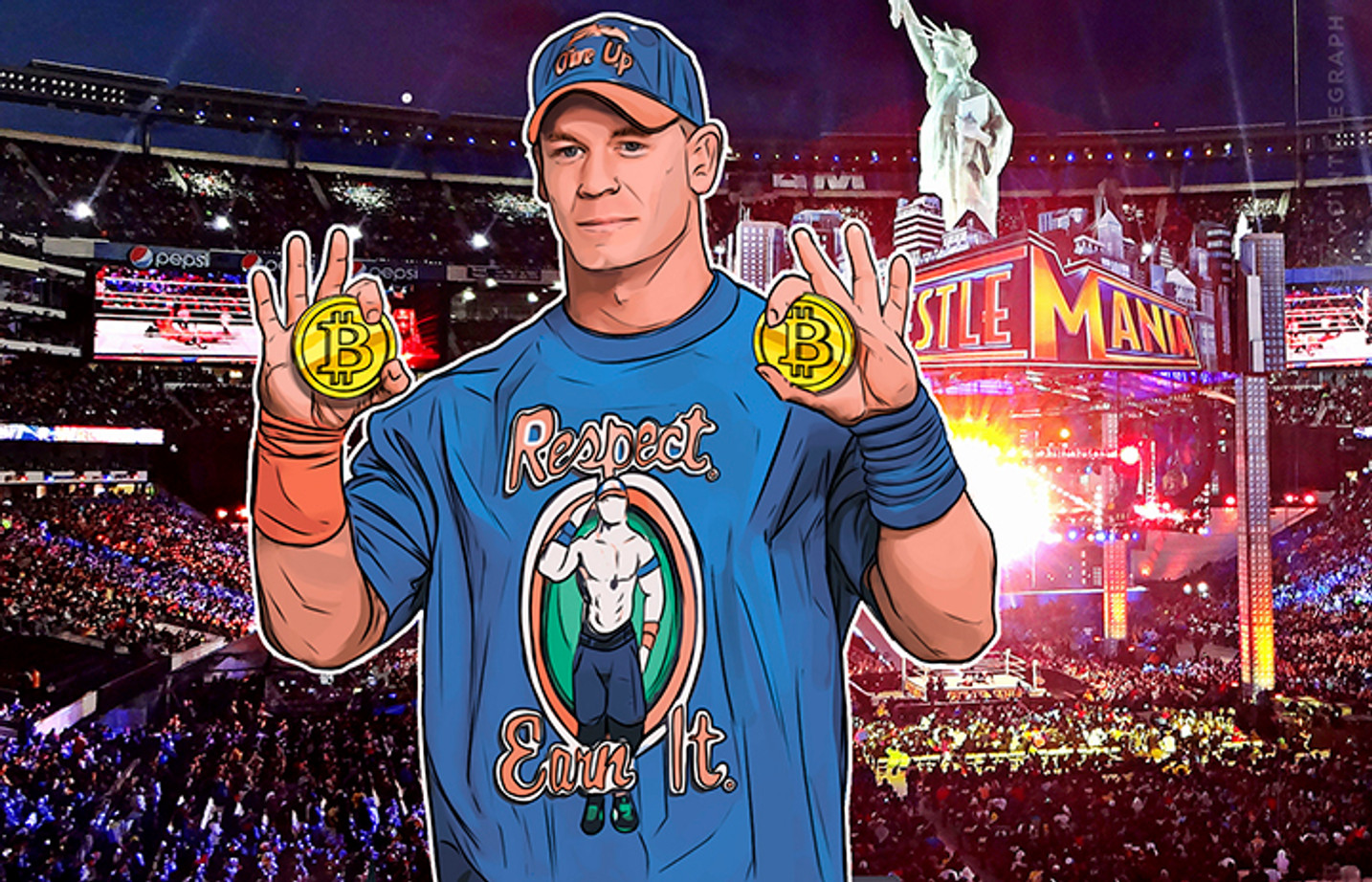 Is John Cena Wrestling Bitcoin Price Towards The Moon?