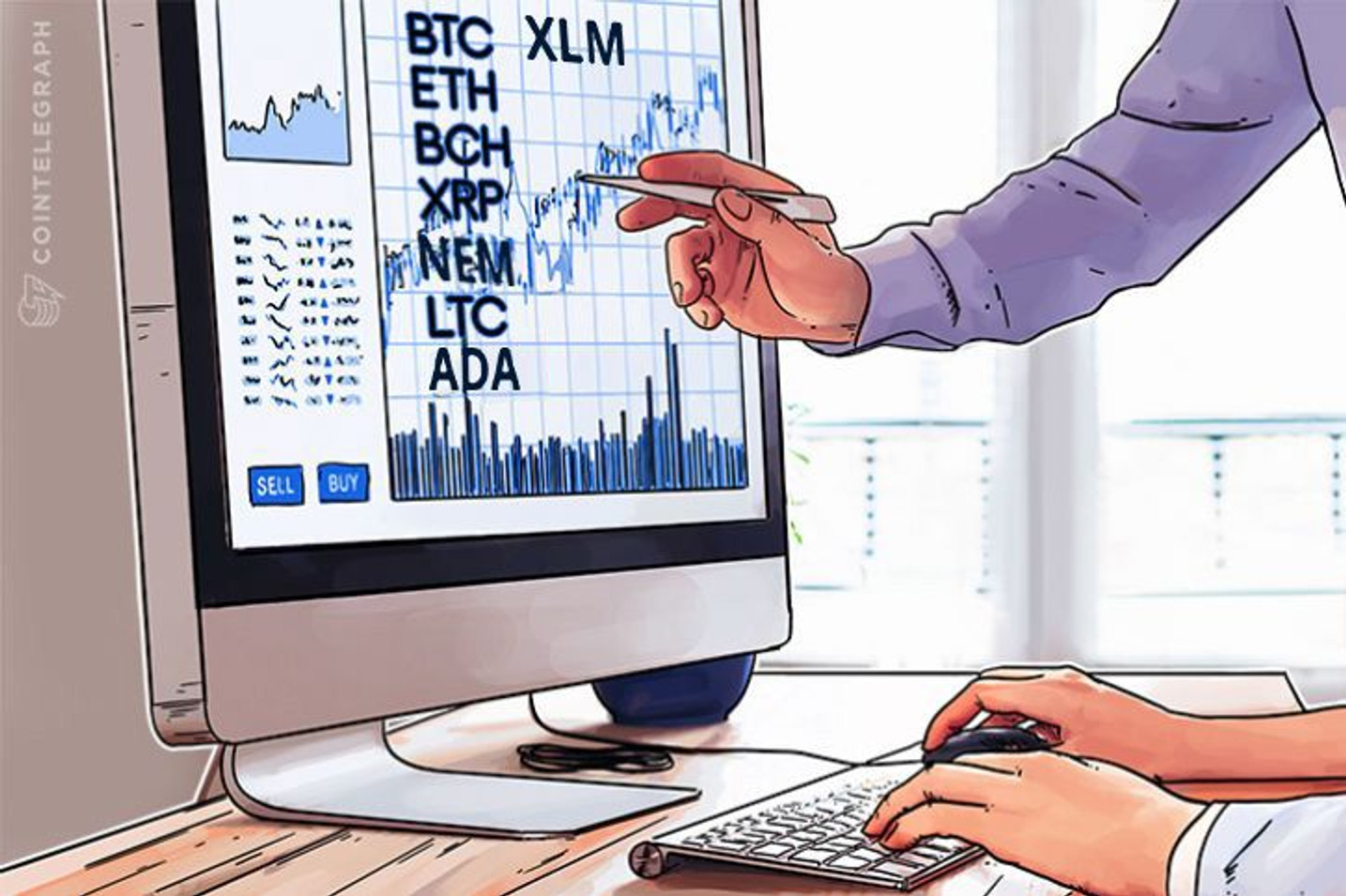 Bitcoin, Ethereum, Bitcoin Cash, Ripple, Stellar, Litecoin, Cardano, NEO, EOS: Price Analysis, Feb. 23