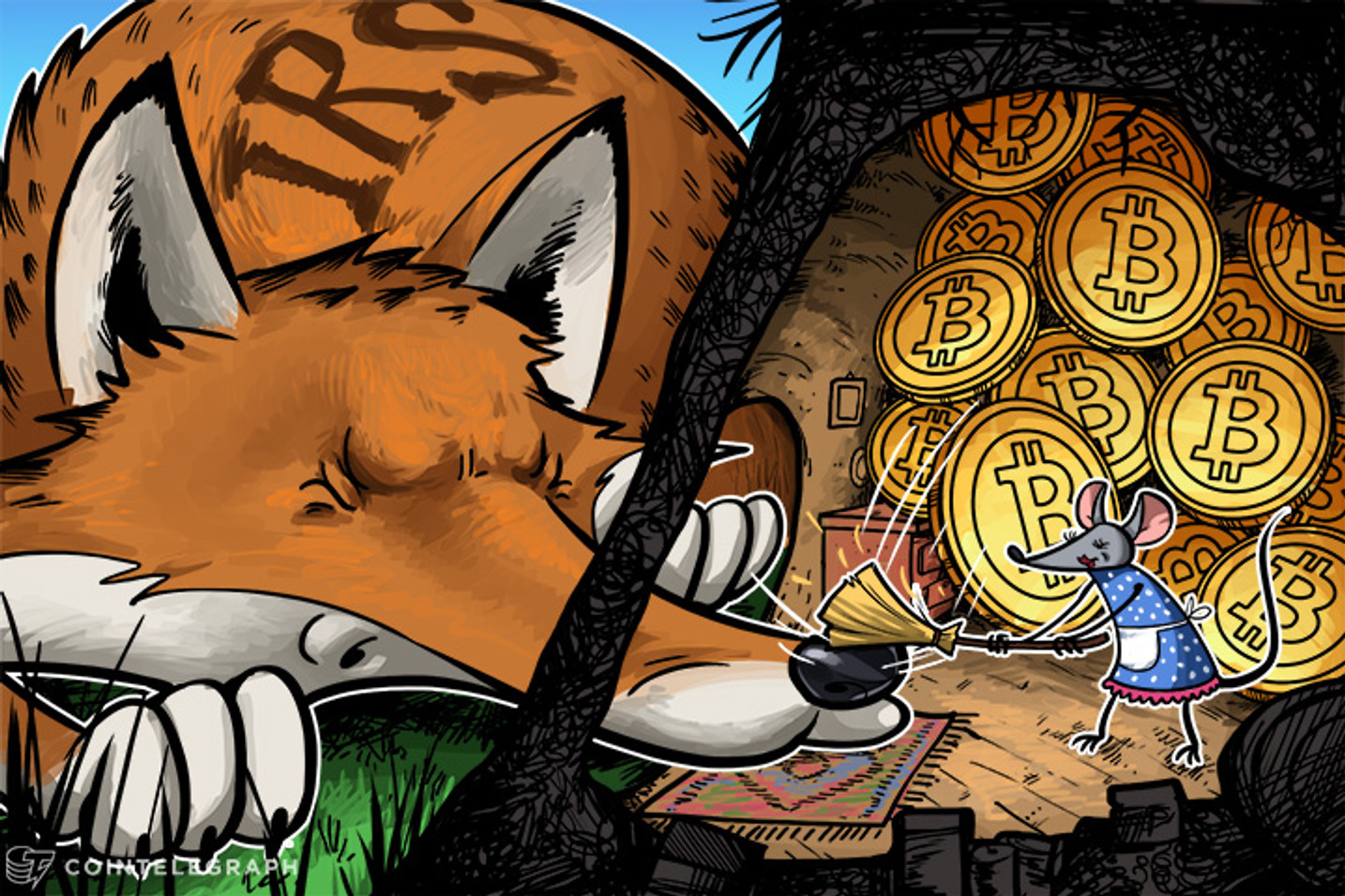 Will US Government Continue to Target Bitcoin Users for Taxes?