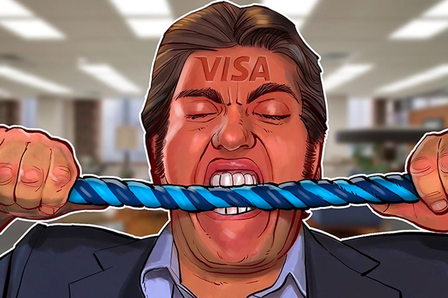 Visa suspende estatus WaveCrest, cancelando algunas tarjetas de crédito cripto
