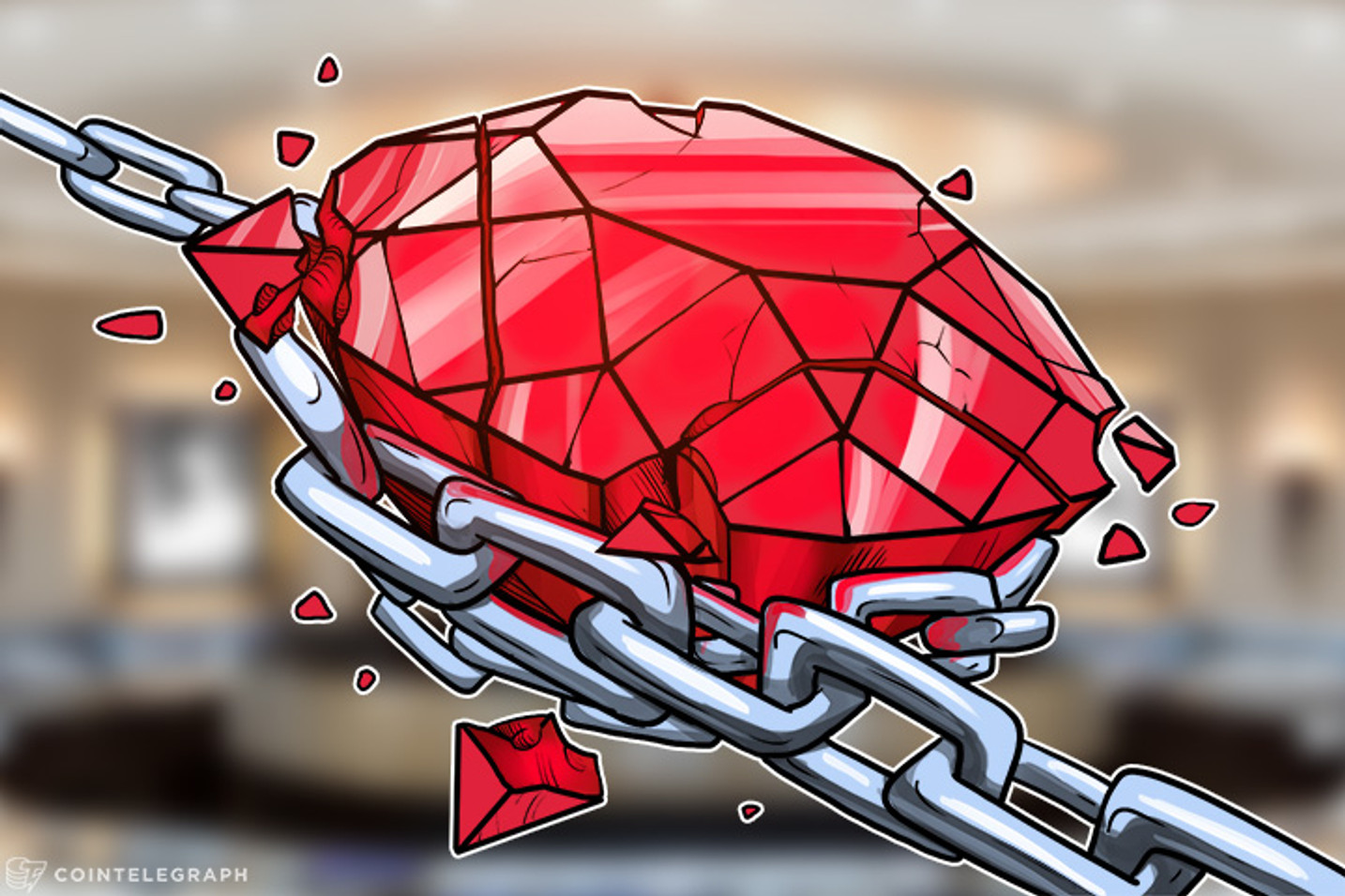 Blockchain Is Used To Fight Blood Diamonds and Counterfeits