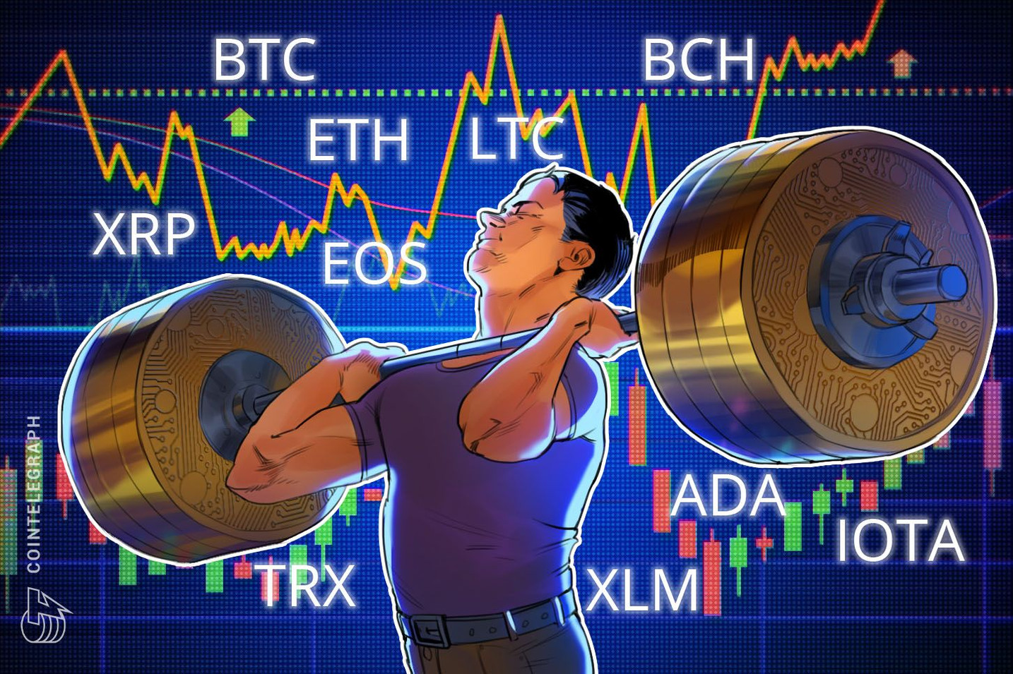 Bitcoin, Ethereum, Ripple, Bitcoin Cash, EOS, Litecoin, Cardano, Stellar, IOTA, TRON: Price Analysis, July 16
