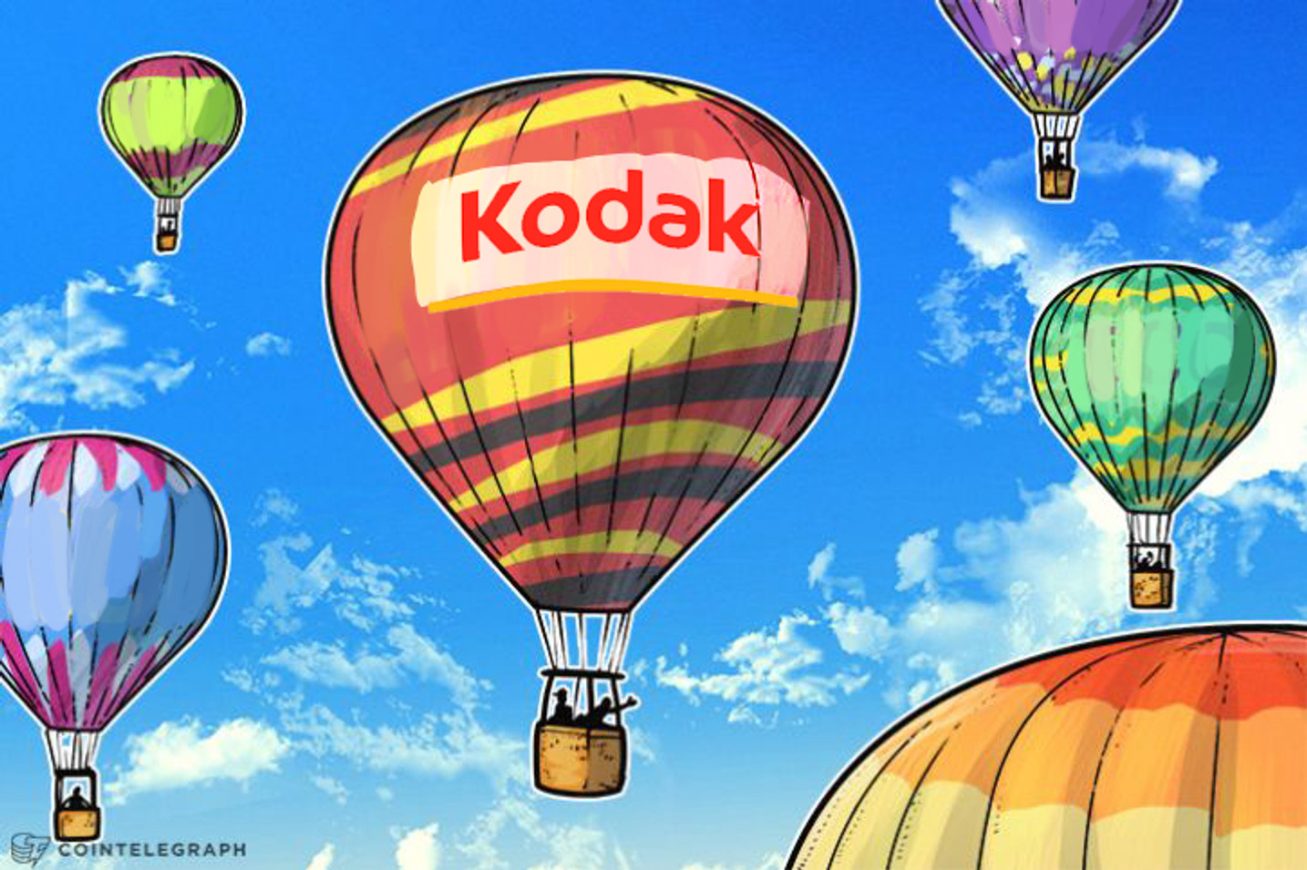 Kodak Sees Stock Price Soar Following Unveiling of KodakCoin
