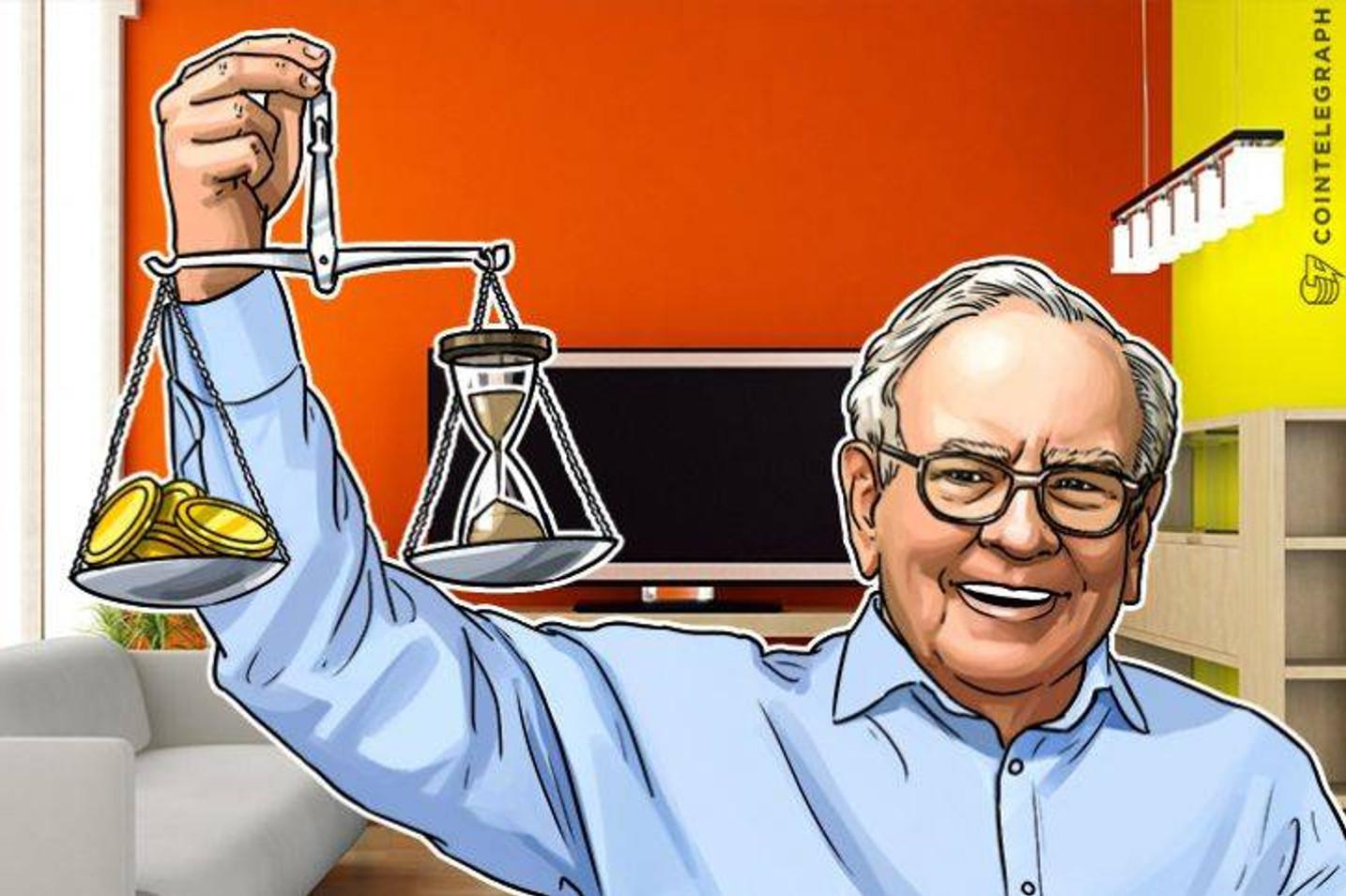伝説の投資家バフェット氏、株主総会でもビットコインを批判