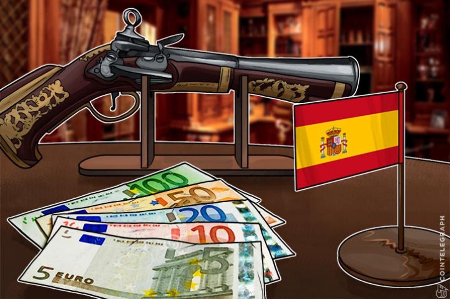 スペイン国民党  ブロックチェーン企業への減税措置を検討
