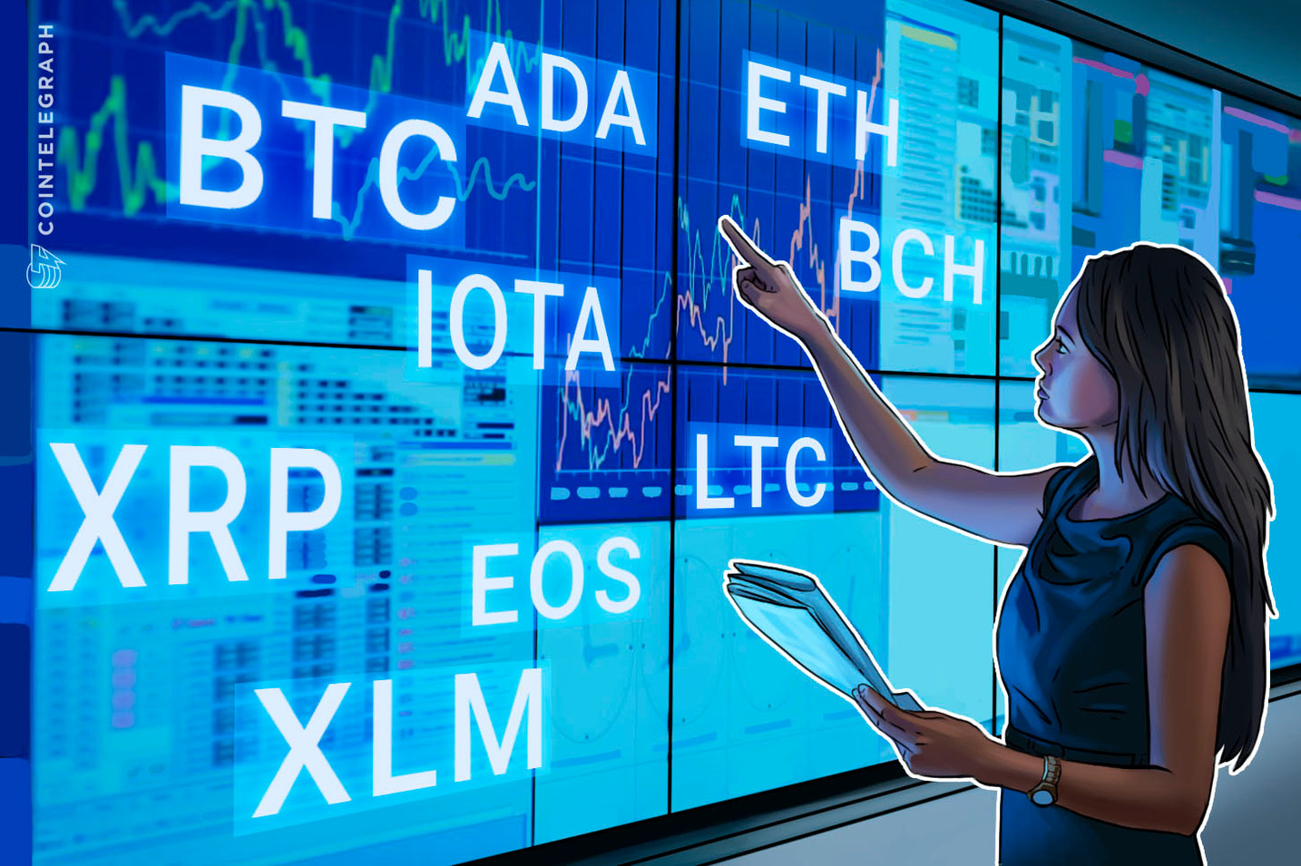 Bitcoin, Ethereum, Ripple, Bitcoin Cash, EOS, Litecoin, Cardano, Stellar, IOTA: Analisi dei prezzi, 15 giugno