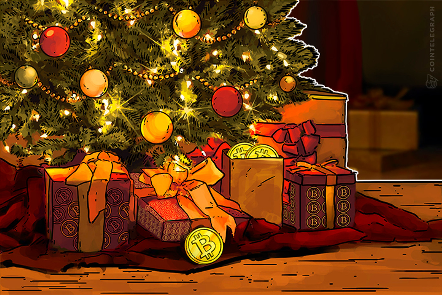 Bitcoin Christmas Special: 2017 Was Wild Ride, Eventful 2018 Seems Likely