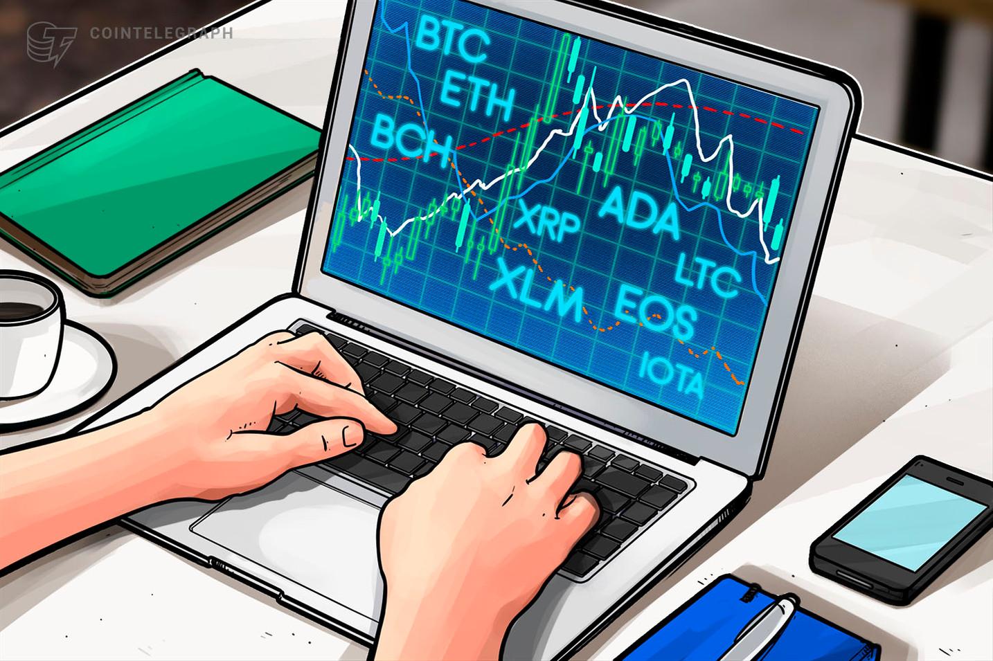 Bitcoin, Ethereum, Ripple, Bitcoin Cash, EOS, Litecoin, Cardano, Stellar, IOTA: Análisis de precios, 11 de junio