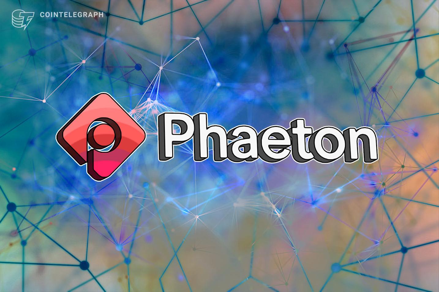Phaeton 宣布推出首个可再生能源驱动的区块链网络