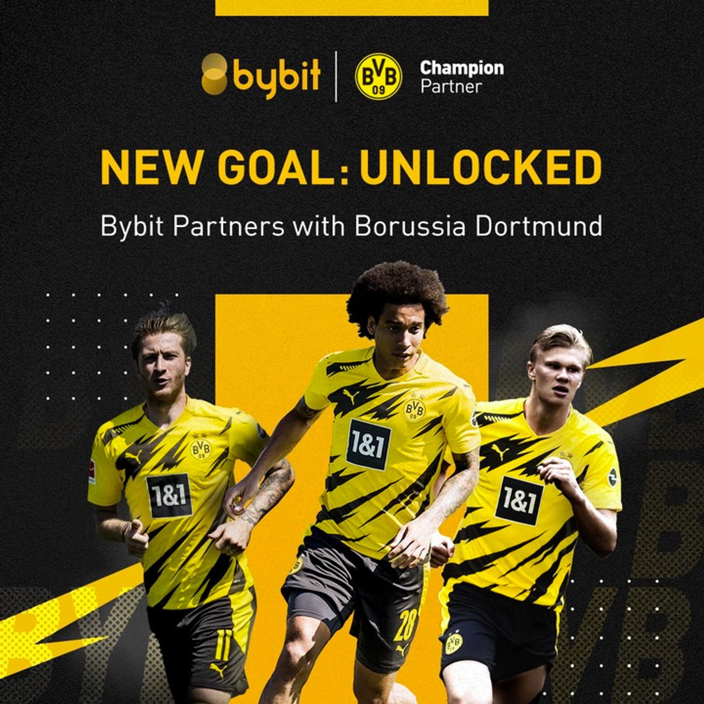 Bybit成为多特蒙德俱乐部最新的国际冠军级合作伙伴