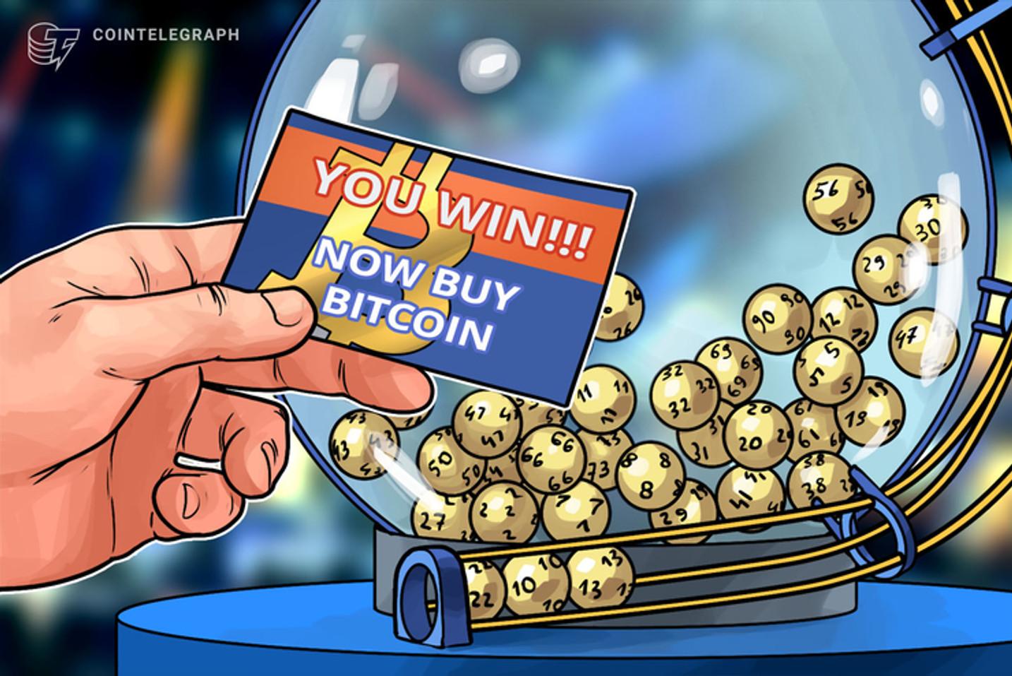 Usando Bitcoin para apostar na Mega Sena da Virada