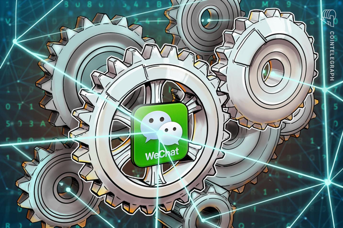 Dona do WeChat, Tencent pede registro no Brasil de assistente virtual que também gerencia wallet de Bitcoin