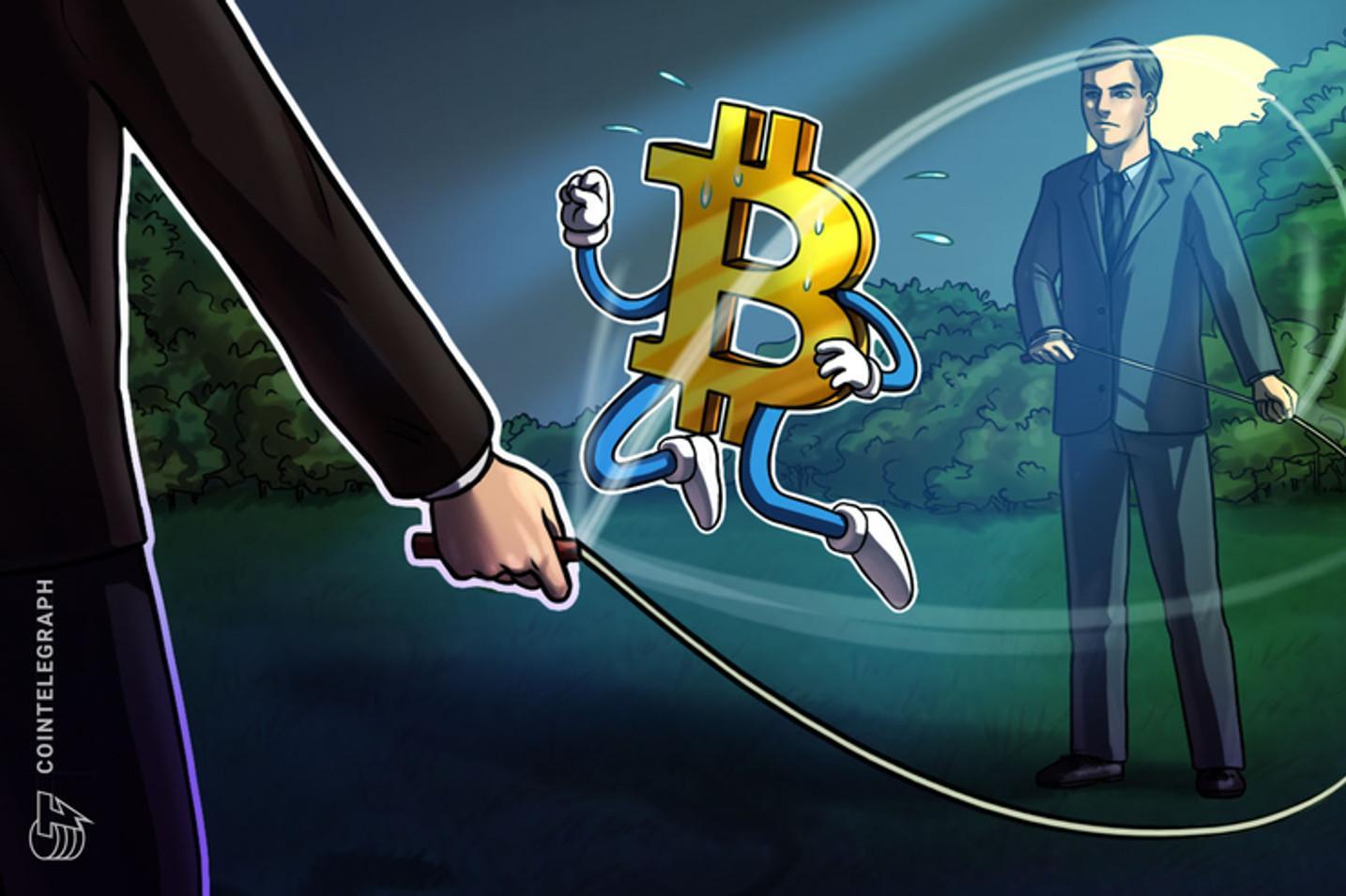 Bitcoin cai mais 6% e desvalorização já chega a mais de 20% em 48 horas; 'US$ 7.337 é ponto-chave', aponta trader
