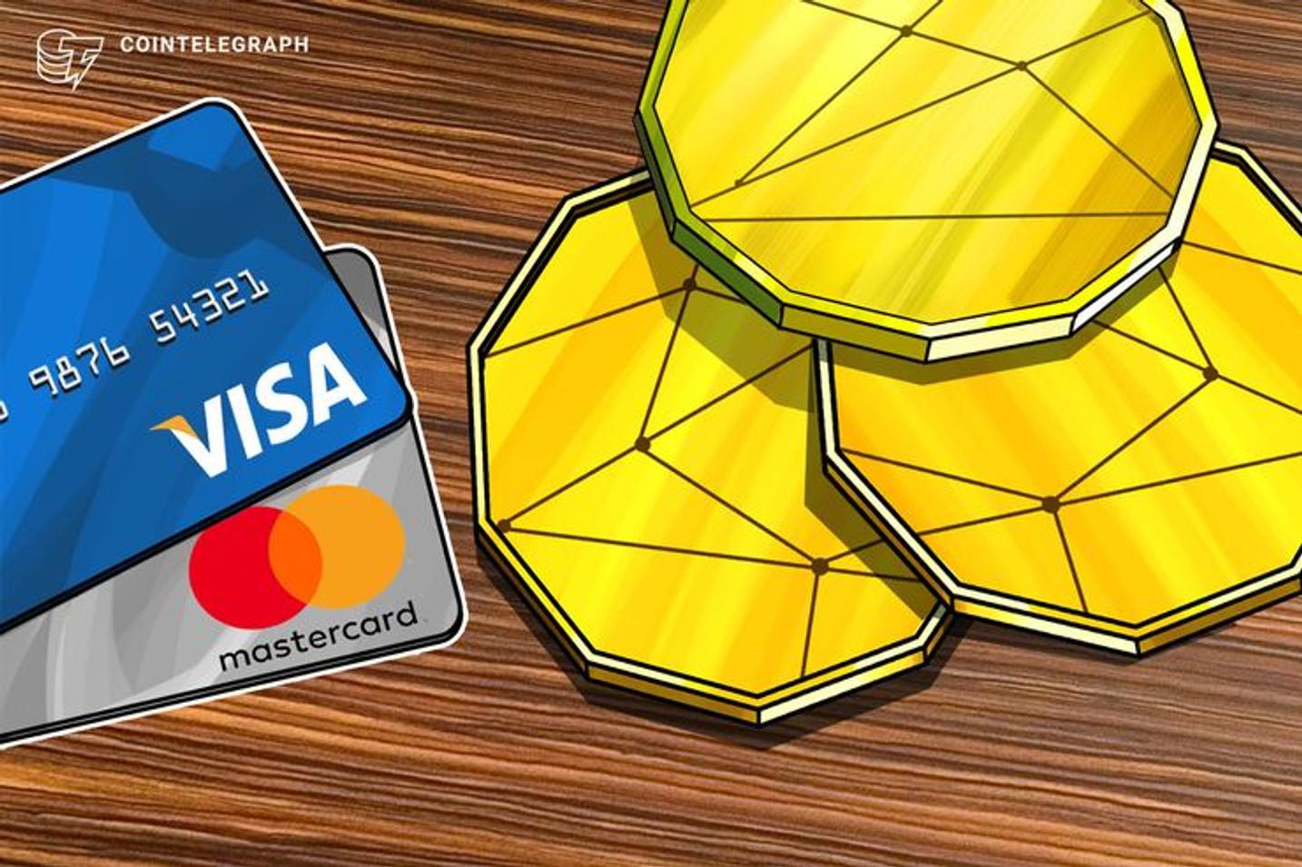 Visa 'abraça' Bitcoin e Xapo lançará cartão de BTC em 2020