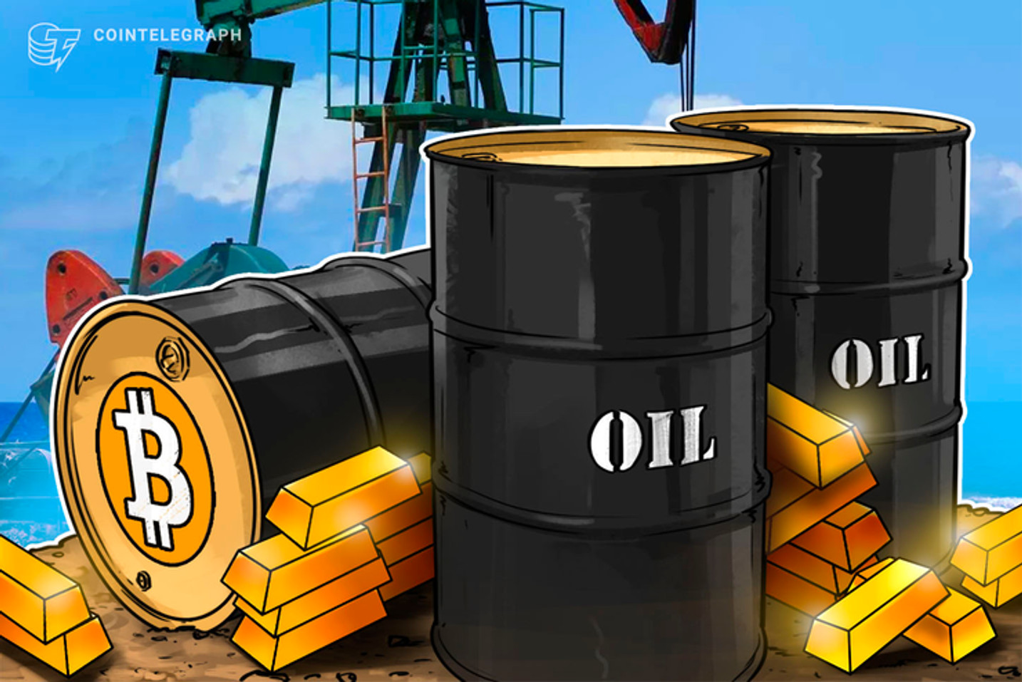 Petróleo despenca mais de 20% e acende alerta no mercado de investimento, Bitcoin cai 10%