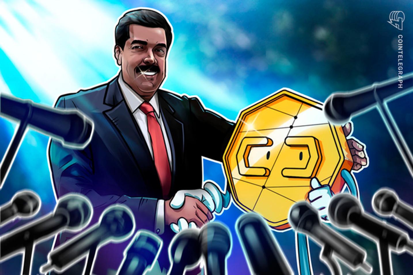 Venezuelanos começam a usar o Petro, criptomoeda da Venezuela, que não é aceito em todo o país