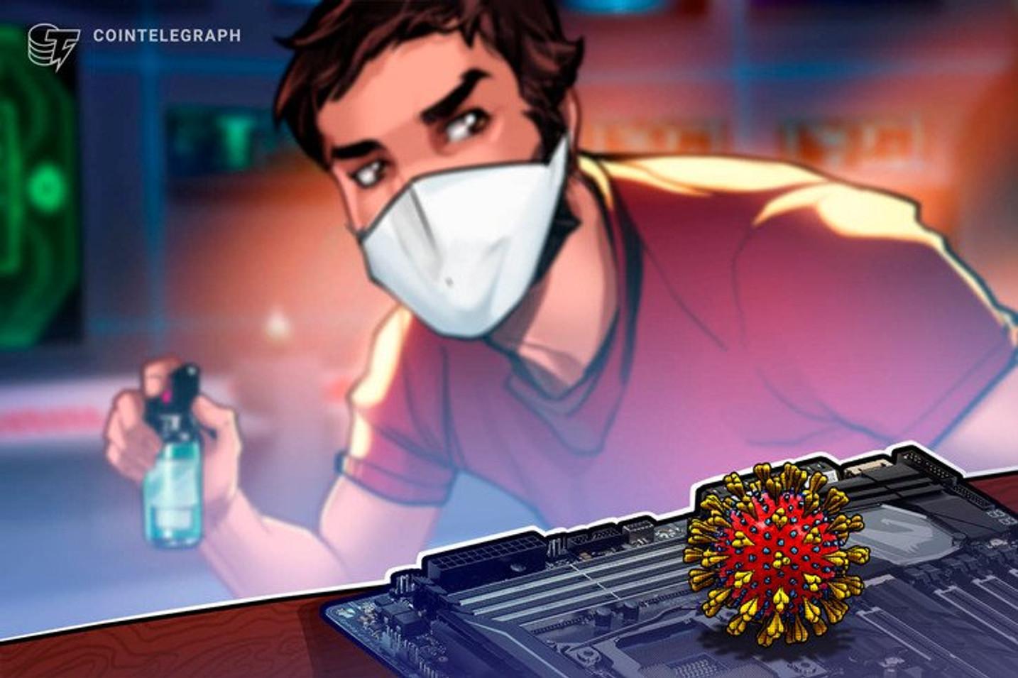Coronavírus impacta até pirâmides de Bitcoin que cancelam cruzeiros e viagens