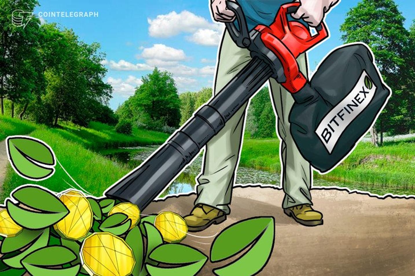 Bitfinex transfere mais de 146 mil Bitcoins no valor acima de US$ 1 bilhão e paga apenas US$ 0,69