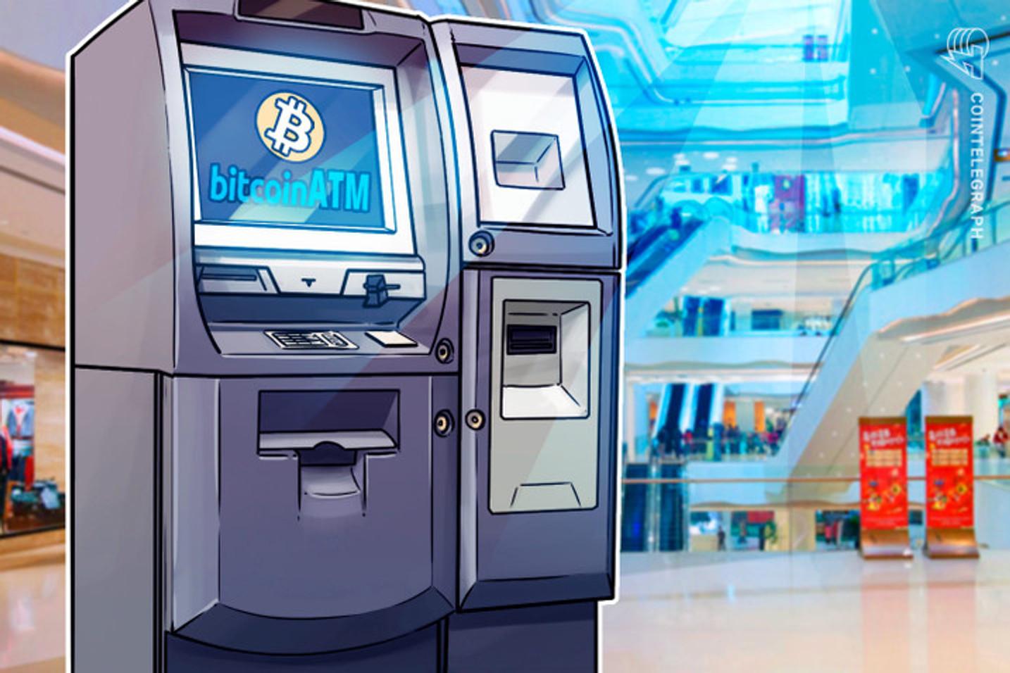 Gigante de ATMs de Bitcoins dos EUA anuncia expansão no Brasil com a instalação de 10 caixas eletrônicos de BTC
