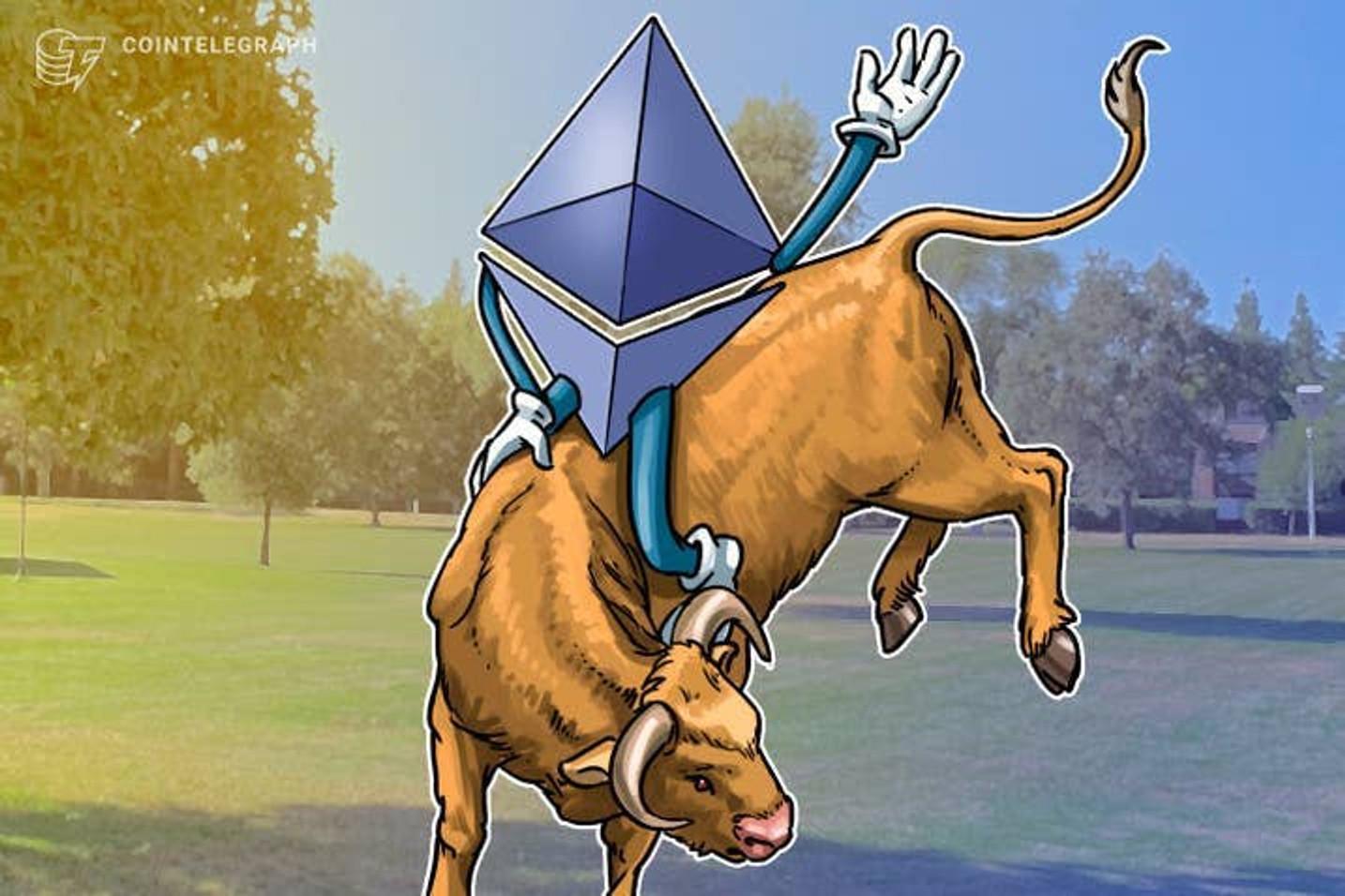 'Ni Bitcoin, ni Solana, ni Cardano, la criptomoneda de turno ahora es Ethereum', dice analista que pronostica una subida de más del 50% para ETH